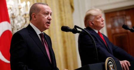 Cumhurbaşkanı Erdoğan: Gönderdiği mektupları, Sayın Trump'a geri takdim ettim