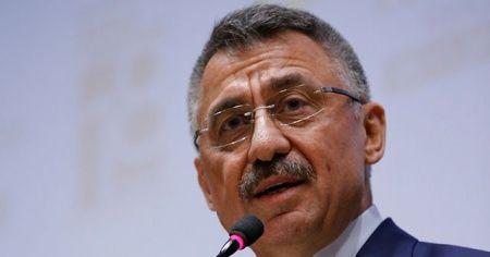 Cumhurbaşkanı Yardımcısı Fuat Oktay: 'Cumhurbaşkanımızın etrafında, arkasında dimdik duralım'