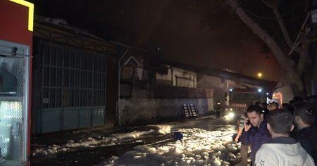 Denizli'deki yangın saatler sonra söndürüldü