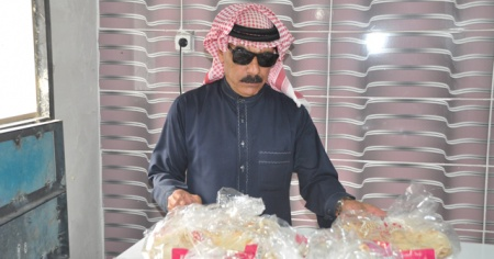 Dünyaca ünlü Suriyeli sanatçı Akçakale'de fırın açıp fakirlere ekmek dağıtıyor