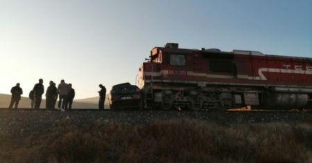 Elazığ'da tren kazası! Yaralılar var