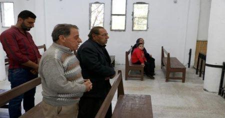 Ermeni Kilisesi onarıldıktan sonra ibadete açıldı
