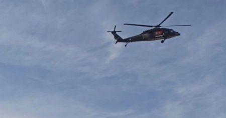 Eskişehir'de helikopterli denetim!