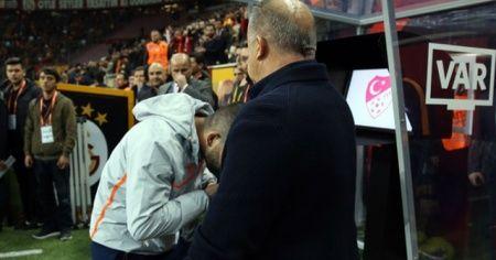 Galatasaray-Başakşehir maçında çok konuşulan anlar!
