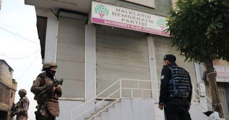 HDP'ye şafak vakti dev operasyon