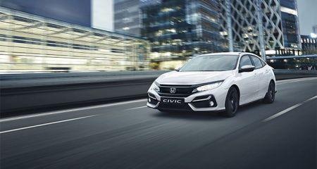 Honda'nın kompakt hatchback modeli Civic yenilendi