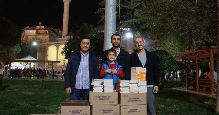 İhlas Vakfı Denizli Temsilciliği 3 bin 500'ün üzerinde kitap dağıttı
