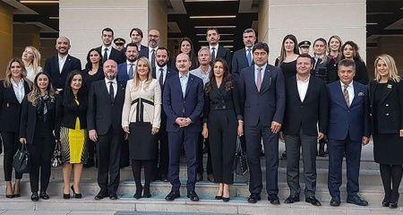 İş dünyasından İçişleri Bakanı Soylu'ya ziyaret