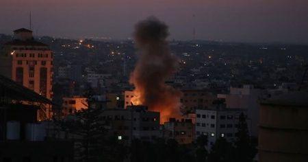 İsrail'in Gazze'ye hava saldırısı devam ediyor