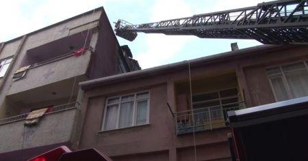 Kadıköy'de yangın! İtfaiye bölgeye sevk edildi