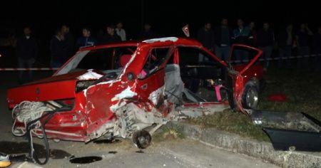 Kazada hayatını kaybeden kız kardeşlerden geriye bu görüntüler kaldı