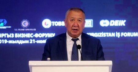 Kırgızistan Başbakan Yardımcısı: Geçen yıl Türkiye ile ilişkilerde yeni bir sayfa açıldı