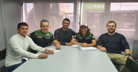 Motosikletçi Can Öncü Turkish Racing Team'e transfer oldu