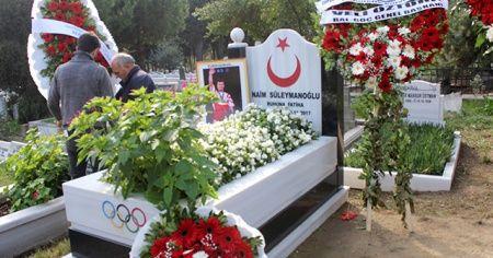 Naim Süleymanoğlu vefatının 2. yılında mezarı başında anıldı