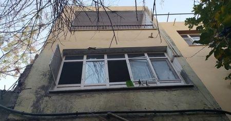 Pencereden bakarken bahçeye düşen adam hayatını kaybetti