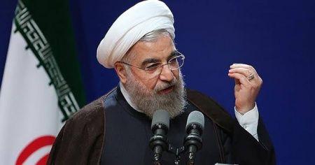 """Ruhani: """"Bölge meseleleri bölge ülkeleri ve halkları tarafından çözülmelidir"""""""