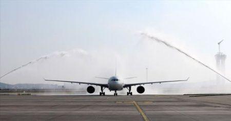 Sabiha Gökçen'e ilk uzun mesafeli uçuş gerçekleştirildi