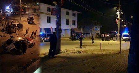 Sakarya'da taşlı, sopalı ve silahlı kavga: 27 gözaltı