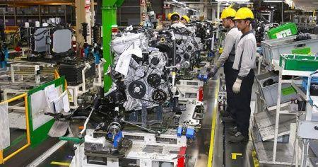 Sanayi üretimi %3,4 arttı