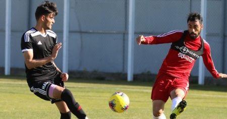 Sivasspor antrenman maçı yaptı