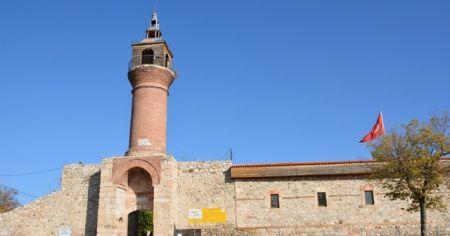 Tarihi kalede korkutan görüntü