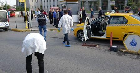 Tartıştığı taksi sürücüsünü silahla vurdu