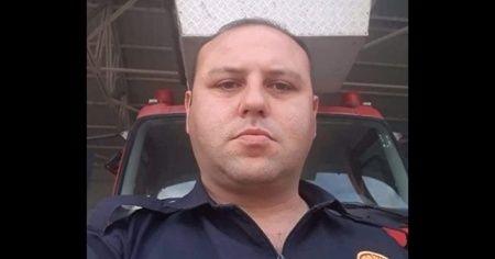 TIR'ın çarptığı itfaiyeci öldü