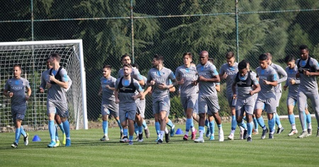 Trabzonspor'da MKE Ankaragücü maçı hazırlıkları sürüyor