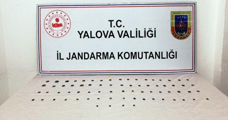 Yalova'da tarihi eser operasyonu