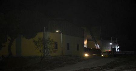 Yem fabrikasında yangın korkuttu