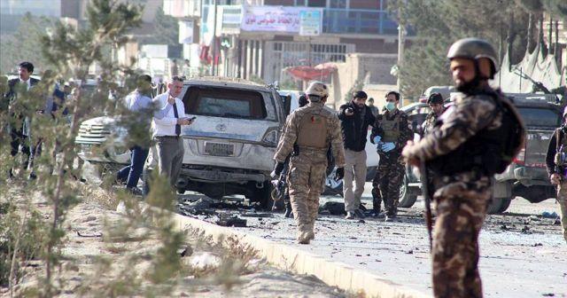 Afganistan'da ABD hava üssü yakınında saldırı: 50 yaralı