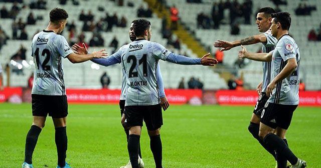 Beşiktaş kupada 24 Erzincanspor'u 3 golle geçti