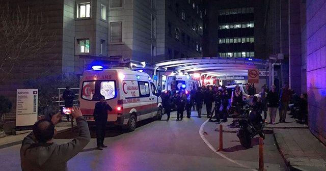 Bursa'da kavga ihbarına giden polis memuru başından vuruldu