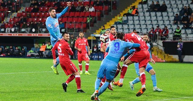 Çaykur Rizespor, kupada Yılport Samsunspor'u yendi