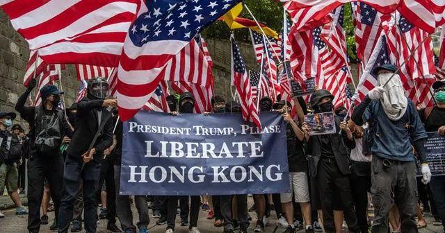 Çin'den ABD'ye karşı Hong Kong hamlesi