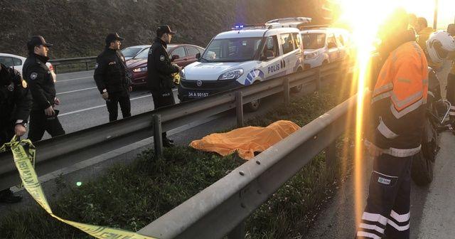 E-5 karayolunda şok eden ölüm