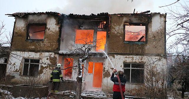 Ekmeleddin İhsanoğlu'nun Yozgat'taki baba ocağında yangın çıktı