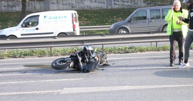 Esenyurt'ta TEM bağlantı yolunda feci kaza: 1 ağır yaralı