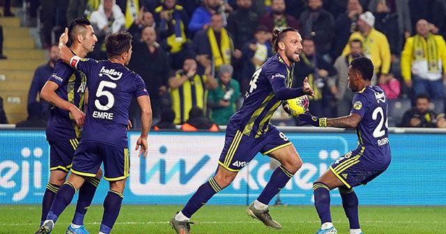 Fenerbahçe, Gençlerbirliği'ni 5-2 yendi