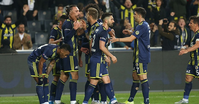 Fenerbahçe, Sivasspor'a 2014'ten beri kaybetmiyor