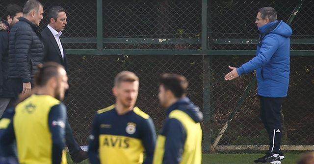 Fenerbahçe, Sivasspor maçı hazırlıklarını sürdürdü