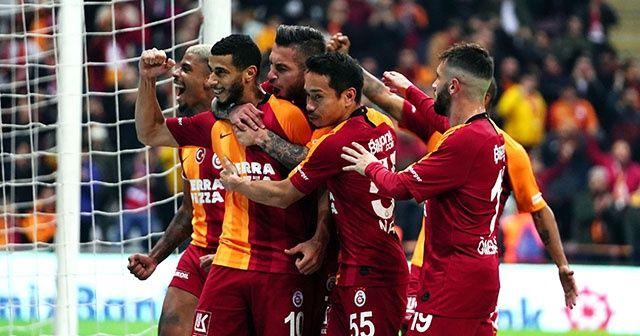 Galatasaray, Alanyaspor'u tek golle geçti