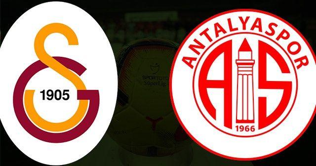 Galatasaray Antalyaspor CANLI!