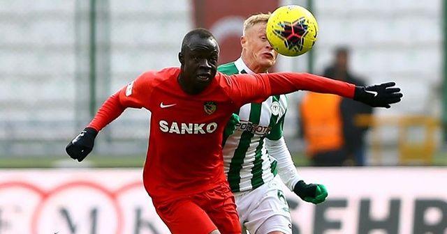 Gaziantep FK Süper Lig'de galibiyete hasret