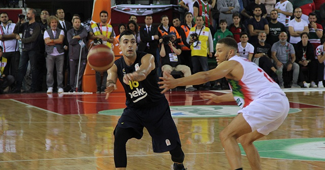 ING Basketbol Süper Ligi: Pınar Karşıyaka: 68 - Fenerbahçe Beko: 57