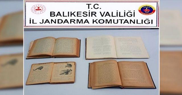 İnternette satışa çıkarılan 107 yıllık 4 bilim kitabı ele geçirildi