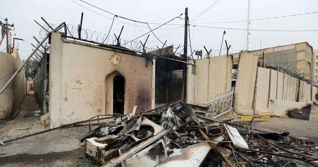 İran Başkonsolosluğu yeniden ateşe verildi