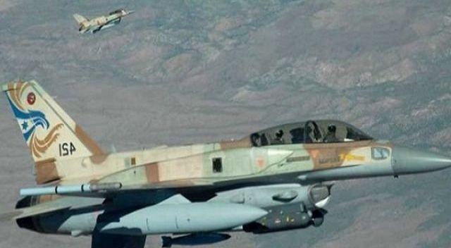 İsrail savaş uçakları Gazze'yi vurdu