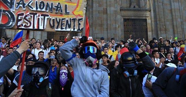 Kolombiya'da hükümetin oluşturduğu diyalog masası protestoları durduramadı