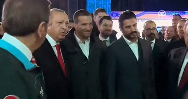 Kuruluş Osman'ın yıldızı Burak Özçivit yerli otomobil tanıtım törenine katıldı